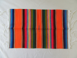 MEXICAN SERAPE PLACE MAT / TABLE MAT. AMBER
