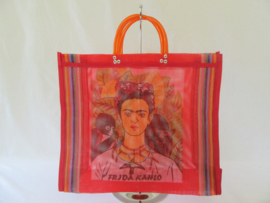 SHOPPER BAG WITH FRIDA KAHLO PRINT
