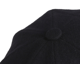 PEAKY BLINDERS NEWSBOY CAP. ZWART