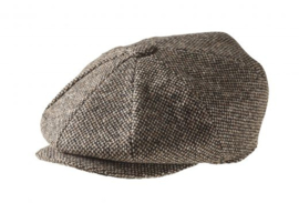 PEAKY BLINDERS NEWSBOY CAP. BIRDS EYE BRUIN