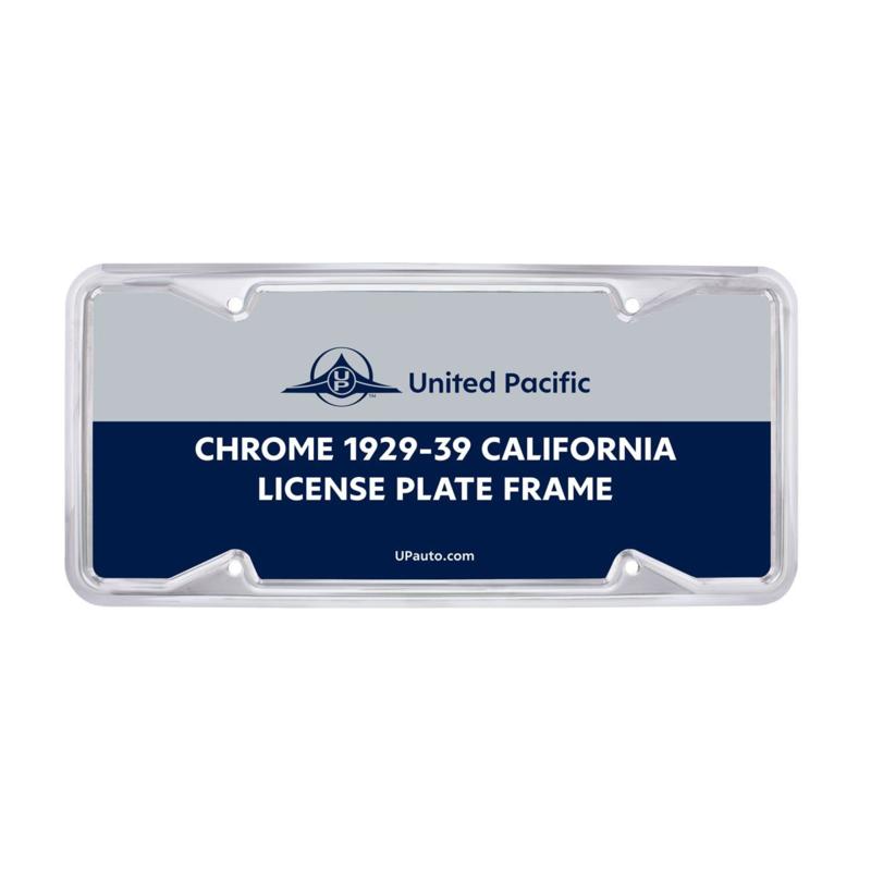 KENTEKENLIJST 1929-1938 CALIFORNIA