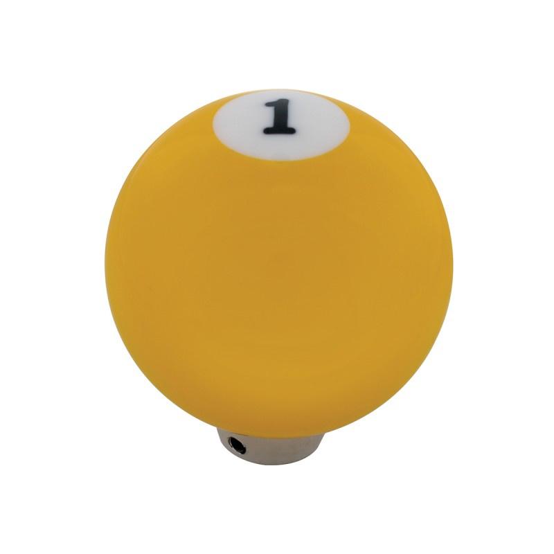 POOL BALL NUMMER 1 VERSNELLINGSPOOK KNOP