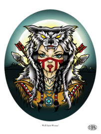 'Wolf Spirit Woman'