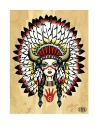 'Cherokee Lady'
