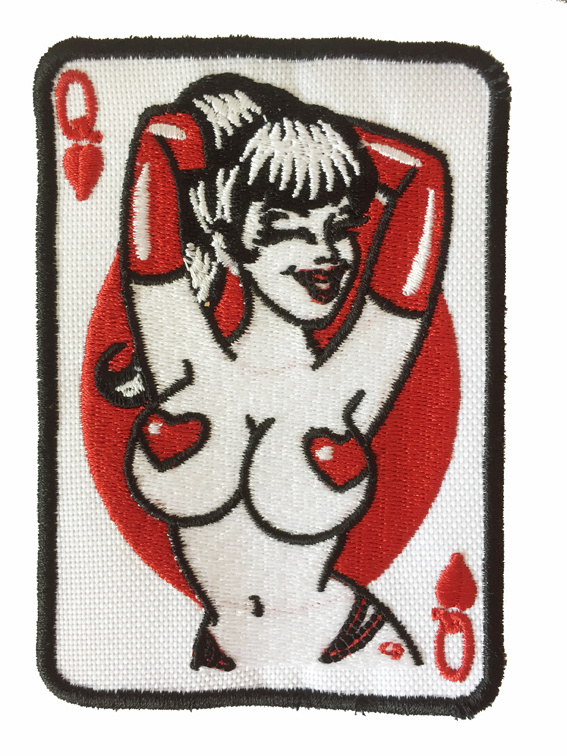 Queen of Hearts patch