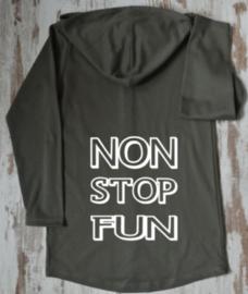 Non stop fun lang vest