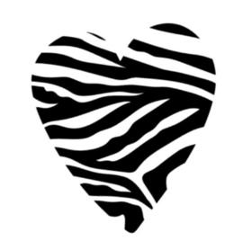 Hart zebra print