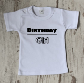 Strijkapplicatie birthday girl