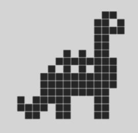 Dino vierkantjes