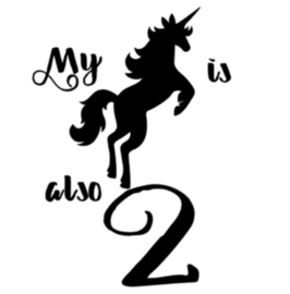My unicorn is also 2