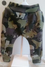 IJSBEER in cammouflage kleuren (gewatteerd)