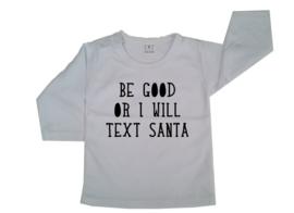 Be good or i will tekst santa