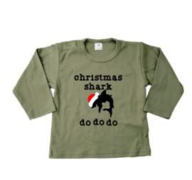 Christmas shark  shirt