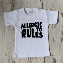 Allergic to Rules