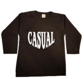 Casual t-shirt of longsleeve