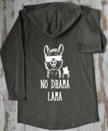 No drama lama met bril