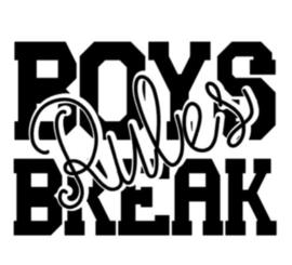Boys break rules