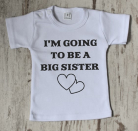 I'm goinig to be a big sister