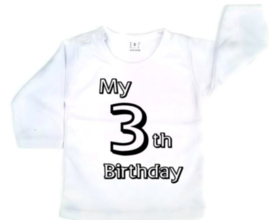 my 3th birthday