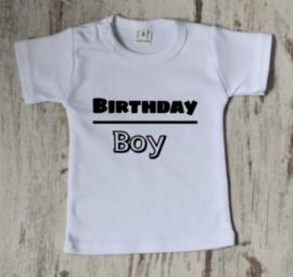 Strijkapplicatie birthday boy