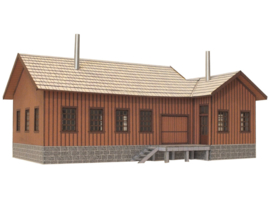US TT warehouse kit with 2 loading docks