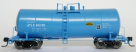 Blue UTLX tank car #66370