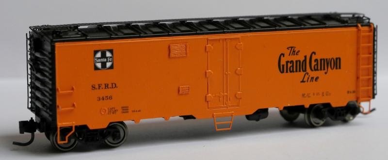 SFRD 3456, Santa Fe Railroad reefer
