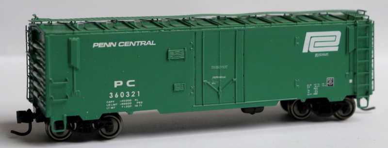 PC 360321, Penn Central insulated boxcar