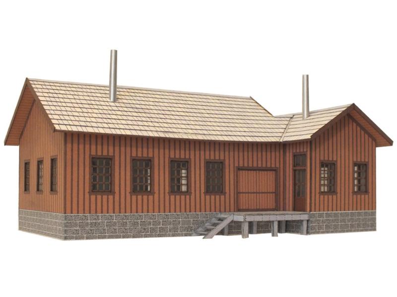 US TT warehouse kit with 2 loading docks