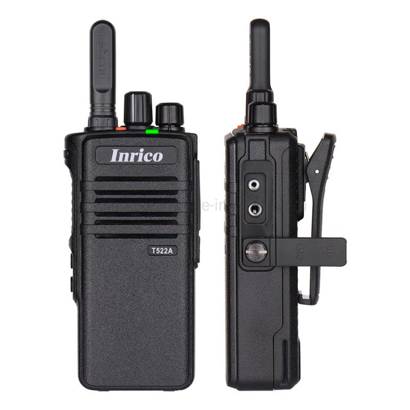 5 stuks  Inrico T-522A 4G met 1 jaar Realptt en Galaxy Sim
