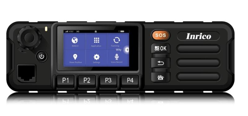 Inrico TM-7+ Voipmobilofoon met gps 4G