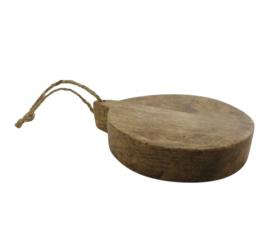 Rond houten plankje