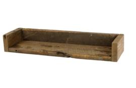 Wandplank - rustiek hout  45 cm (S)