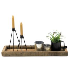Rustiek houten tray