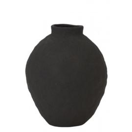 Vaas 21x26 cm zwart