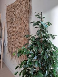 Wandkleed gevlochten palmblad 120 cm x 160 cm