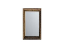 Rustiek houten spiegel 80 x 30 cm