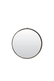 Ronde houten spiegel 41 x 4.5 cm