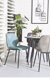 Seashell stoel By Boo blauw