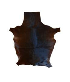 Geitenvacht donkerbruin-zwart