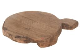 Oude houten chapati plankjes +/- 25 cm