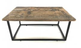 Rustiek houten salontafel 87 cm