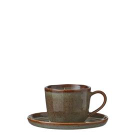 Koffietas inclusief onderbord