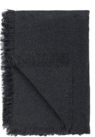 Zwarte plaid