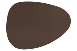 Placemat bruin 43x32 cm