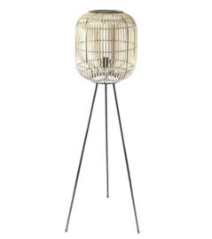 Vloerlamp bamboe 141 cm