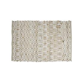 Jute / viscose 70 x 140 tapijt
