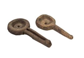 Rustieke houten lepel