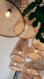 Bamboelamp L 50 cm