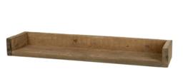 Wandplank - rustiek hout 60 cm (L)
